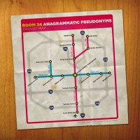 Room 34 - Anagrammatic Pseudonyms (front)