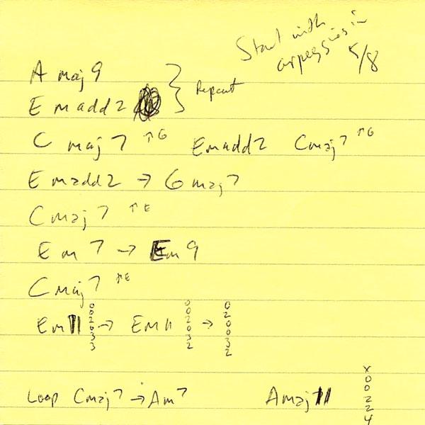 8-Bit Time Machine chords Post-it