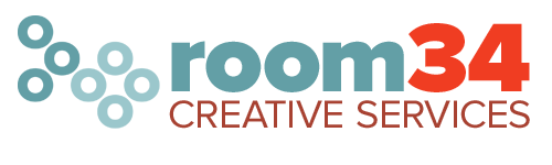 New Room 34 logo, revised
